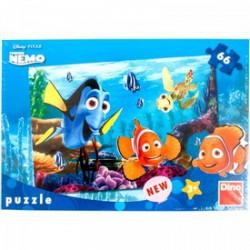 DINO - Puzzle 66 db Némó a korallzátonyon - PUZZLE játékok - Dino puzzle, társasjátékok