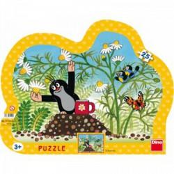 DINO - Puzzle 25 db, keretes - Kisvakond és a bögre - PUZZLE játékok - Dino puzzle, társasjátékok