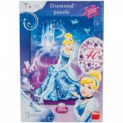 DINO - Puzzle 200 db-os - Hamupipőke csillogó kövekkel - PUZZLE játékok - Dino puzzle, társasjátékok