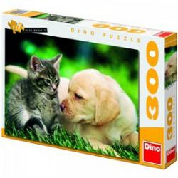 DINO - Puzzle 300 db kis barátok - PUZZLE játékok - Dino puzzle, társasjátékok