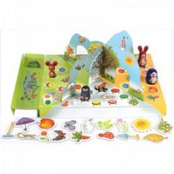 DINO - A Kisvakond kertje társasjáték - Kirakók, puzzle-ok - Dino puzzle, társasjátékok