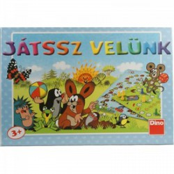 DINO - Játssz velünk Kisvakond társasjáték - Kirakók, puzzle-ok - Dino puzzle, társasjátékok