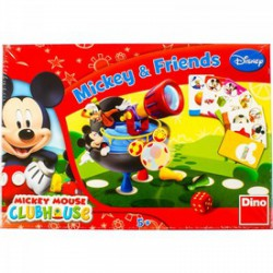 DINO - Társasjáték - Mickey és barátai - Kirakók, puzzle-ok - Dino puzzle, társasjátékok