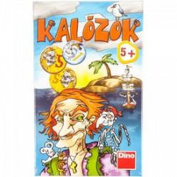 DINO - Társasjáték - Kalózok - Kirakók, puzzle-ok - Dino puzzle, társasjátékok