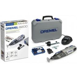 Dremel - F0138200JF 8200-2/45 akkus multifunkciós mikrogép 10.8 V Li-ion 45 tartozékkal Kert, háztartás - Dremel gépek Dremel