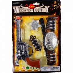 Játékpiszoly szett, vadnyugati - Játék fegyverek - Játék fegyverek
