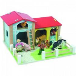 Le Toy Van - fa kis farm szett 40x45x24cm, fajáték - Fajátékok lányoknak - Fajátékok Le Toy Van
