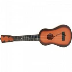 Műanyag gitár, fa mintázattal - Játék hangszerek - Játék hangszerek