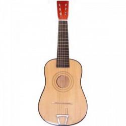 Akusztikus gitár fából - 60 cm - Játék hangszerek - Fajátékok