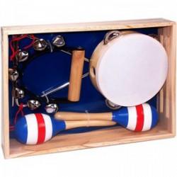 Fa hangszer készlet (06029) - Játék hangszerek