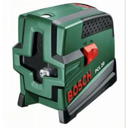 BOSCH - BOSCH PCL 20 keresztvonalas szintezőlézer Kert, háztartás - Bosch termékek