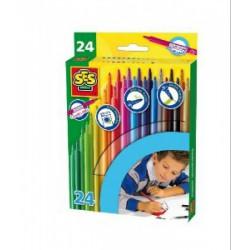 SES - Filctoll 24 db-os 02052 - SES Kreatív játékok - SES kreatív játékok