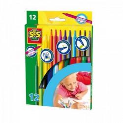SES - Filctoll 12 db-os 02051 - SES Kreatív játékok - SES kreatív játékok