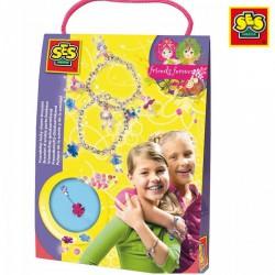 SES - Karkötő készítő szett 14883 - Tudomány és kreatív játék - Lányos játékok