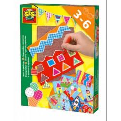 SES - Már tudok - montázst készíteni 14836 - Tudomány és kreatív játék - SES kreatív játékok