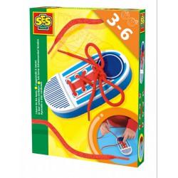 SES - Már tudok - cipőt befűzni 14805 - Tudomány és kreatív játék - SES kreatív játékok