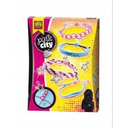 SES - Pink city - karkötő készítő szett 14323 - Tudomány és kreatív játék - Lányos játékok