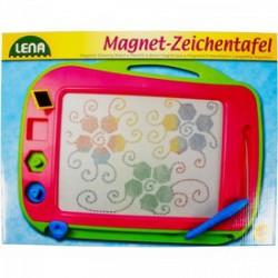 Lena - színes mágneses rajzolótábla 41 cm - Lena golyófuttató, pötyi, műanyag játékok - Bébijátékok Lena
