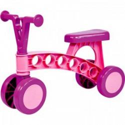 Lena - rózsaszín műanyag négykerekű futóbicikli - Bébijátékok - Bébijátékok