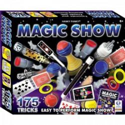 Magic Show bűvészdoboz - 175 trükk - Tudomány és kreatív játék - Bűvésztrükk játékok Magic Show