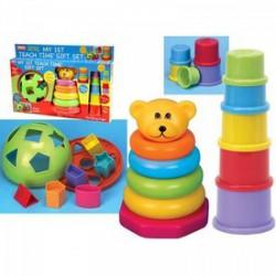 Fun Time - Első fejlesztő játékaim bébi ajándékszett - Funtime bébijátékok - Bébijátékok