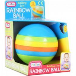 Fun Time Szivárvány gömb építő - Funtime bébijátékok - Bébijátékok Fun Time