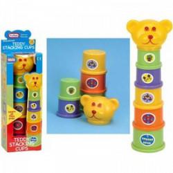 Fun Time - Toronyépítő, Teddy macis - Funtime bébijátékok - Bébijátékok