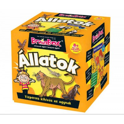 Brainbox Állatok társasjáték - Brainbox társasjátékok kicsiknek