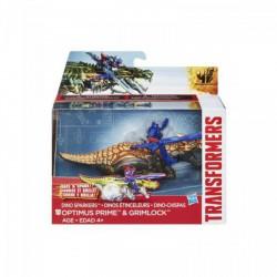 Transformers - Age of Extinction - Optimus Prime és Grimlock szikrázó dínórobot - Transformers játékok - Dínós játékok