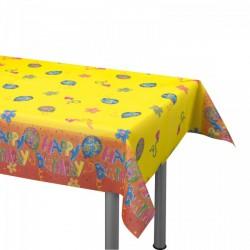 Asztalterítő 120x180 cm Happy Birthday - Softdekor - Partykellékek, csomagolóanyagok - Partykellékek, csomagolóanyagok