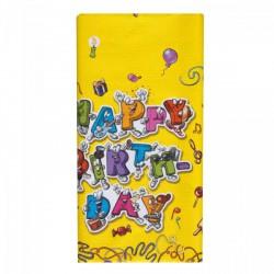 Asztalterítő 120x180 cm Celebration - Partykellékek, csomagolóanyagok - Partykellékek, csomagolóanyagok