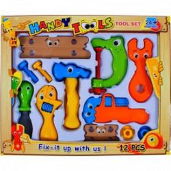 Játék szerszámkészlet 12 db-os - Barkácsolós játékok - Barkácsolós játékok