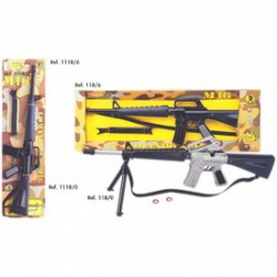 Molto - játék géppuska M16 Játék
