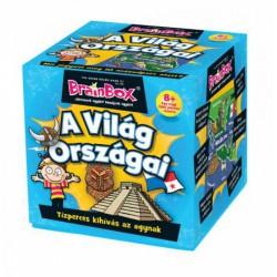 Brainbox A Világ országai társasjáték - Brainbox társasjátékok kicsiknek - Brainbox társasjátékok kicsiknek Brainbox