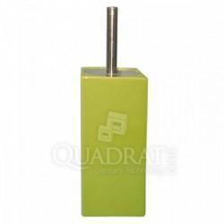 QUADRAT - Kerámia, CUBES GREEN Family, wc-kefe tartó - Fürdőszobai kiegészítők Quadrat