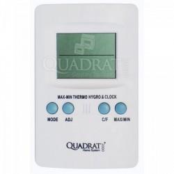 QUADRAT - Hőmérő, digitális, fehér - Fürdőszobai kiegészítők - Fürdőszobai kiegészítők