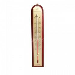 QUADRAT - Hőmérő, fa, kerekített, bordó Otthon - Fürdőszobai kiegészítők