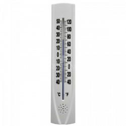 QUADRAT - Hőmérő, műanyag, fehér, perforált Otthon - Fürdőszobai kiegészítők