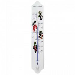 QUADRAT - Kerti fém hőmérő, gyümölcsös - Fürdőszobai kiegészítők - Fürdőszobai kiegészítők
