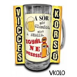 Söröskorsó - A sör már olcsóbb mint a benzin -Bögrék - Bögrék
