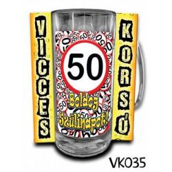 Söröskorsó - Boldog 50. Szülinapot -Bögrék - Bögrék