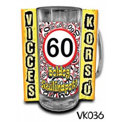 Söröskorsó - Boldog 60. Szülinapot -Bögrék - Bögrék