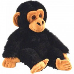 Plüss csimpánz 20 cm Játék - Bébijátékok