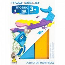 Magneticus - Ariel mágneses képkirakó 98 db-os Játék - Magneticus mágneses képkirakók