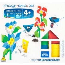 Magneticus - Virágos mágneses képkirakó 272 db-os Játék - Magneticus mágneses képkirakók