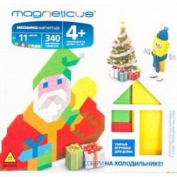 Magneticus - Karácsonyos Mágneses képkirakó 340 db-os Játék - Magneticus mágneses képkirakók