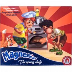 Magnetiz - Kis szakácsok mágneses képkirakó Játék - Magnetiz mágneses képkirakók