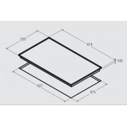 NODOR - GCI 59 beépíthető gázfőzőlap -Beépíthető készülékek - Beépíthető készülékek