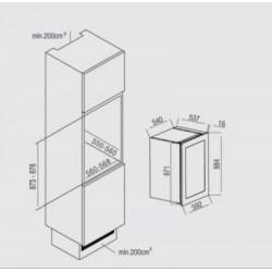 NODOR - Vinoteca V 41 beépíthető borhűtő -Beépíthető készülékek - Beépíthető készülékek