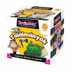 Brainbox Találmányok társasjáték - Brainbox társasjátékok kicsiknek - Brainbox társasjátékok kicsiknek Brainbox
